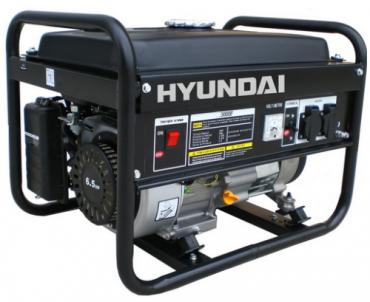 Máy phát điện chạy xăng Hyundai HY7000LE 5.5KW