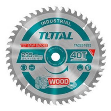 Lưỡi cưa gỗ hợp kim TCT 100 răng Total 250mm TAC23314410T
