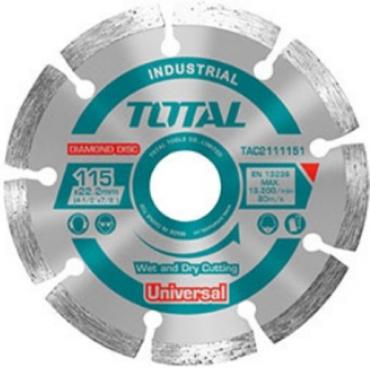 Đĩa cắt gạch khô Total  230x22mm TAC2112303