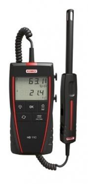 Máy đo nhiệt độ, độ ẩm và nhiệt độ điểm sương KIMO HD110