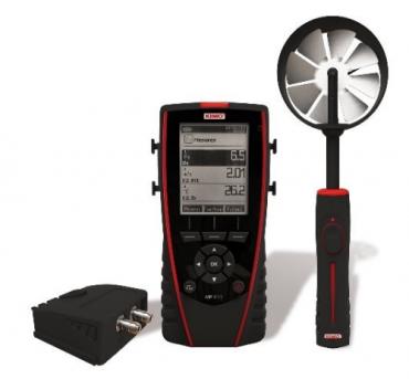 Máy đo áp suất - nhiệt độ - tốc độ gió KIMO MP210