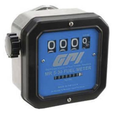 Đồng hồ đo xăng dầu cơ GPI MR 5-30-L8N