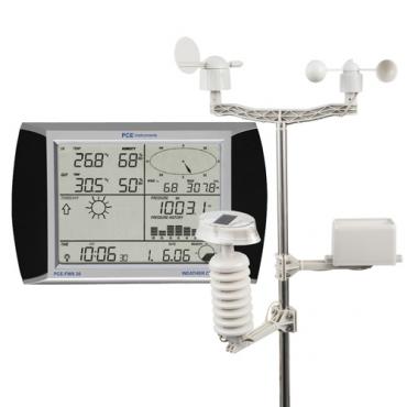 Trạm đo thời tiết mini, đo vi khí hậu PCE-FWS20