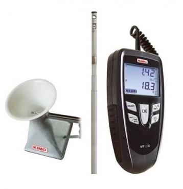 Máy đo tốc độ gió - Anemometer KIMO VT100