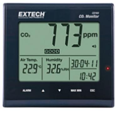 Máy đo khí CO2, nhiệt độ, độ ẩm trong nhà Extech CO100