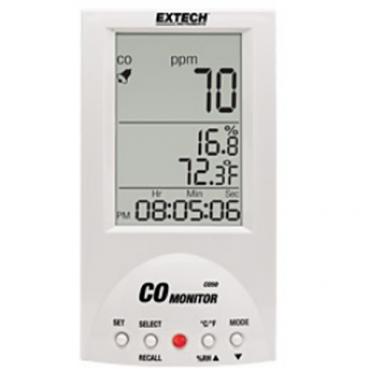 Máy đo khí CO, nhiệt độ và độ ẩm không khí Extech - CO50