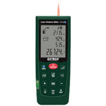 Máy đo khoảng cách bằng laser với Bluetooth Extech - DT500