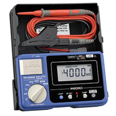 Máy đo điện trở cách điện Hioki IR4056-21 (1000V, 4000MΩ, 5 Range)