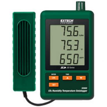 Máy đo khí CO2, nhiệt độ, độ ẩm trong nhà Extech SD800