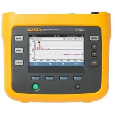 Thiết bị ghi thông số điện năng ba pha Fluke 1736 (1000V/±(0,2% + 0,01%))