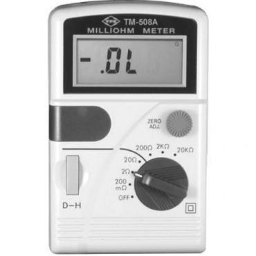 Máy đo điện trở thấp Tenmars TM-508A