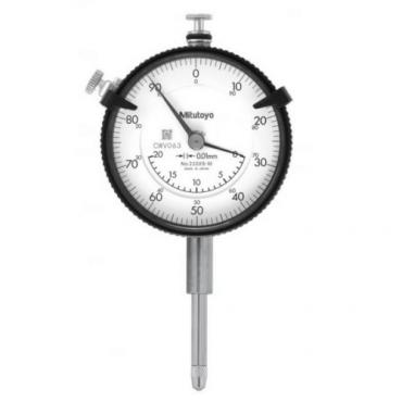 Đồng hồ so cơ khí chân thẳng 0-20mmx 0.01mm Mitutoyo 2320S-10