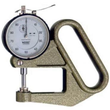 Đồng hồ đo độ dày 0-10 mm ±0.1mm Vogel 240415