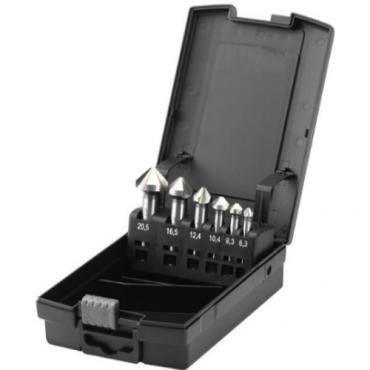 Bộ mũi khoét 6 pcs đường kính từ 6.3 đến 20.5mm ELORA 1359-S