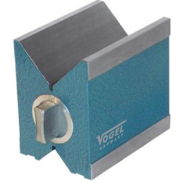 Khối V-Block 100x70x96mm, đường kính trục Ø6-72mm Vogel 330103