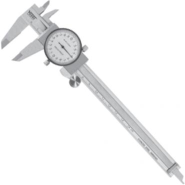 Thước cặp mặt đồng hồ 300mm, ±0.02mm Vogel 201104
