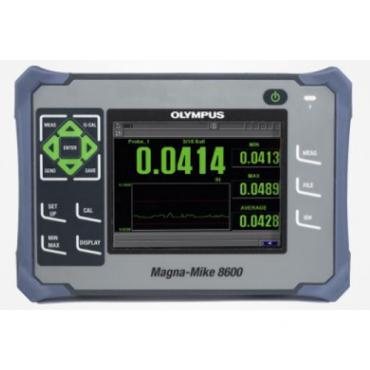 SIÊU ÂM CHIỀU DÀY VẬT LIỆU CHAI NHỰA OLYMPUS Magna-Mike 8600