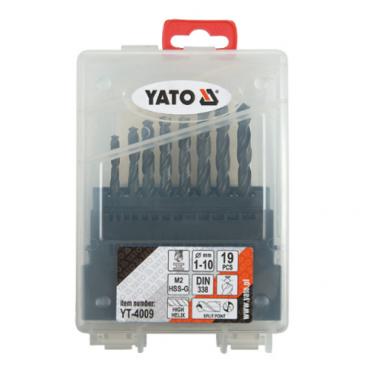 BỘ MŨI KHOAN 1-10MM 19PCS YATO YT-4009