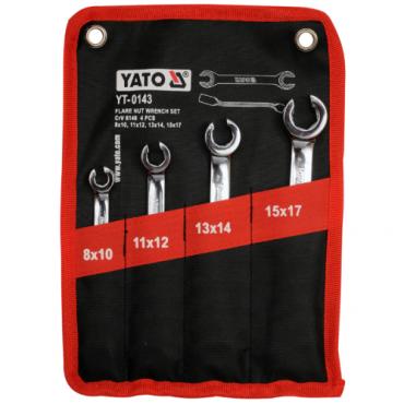 Bộ cờ lê 2 đầu miệng loe 8-17mm YATO YT-0143