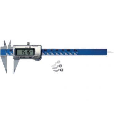 Thước cặp điện tử ngàm mỏng, chuyên đo rãnh sâu, hẹp 150 mm Vogel 202026