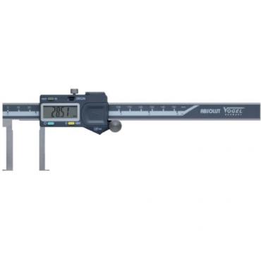 Thước cặp điện tử đo trong, đầu đo rãnh siêu mỏng 30-300 Vogel 201084