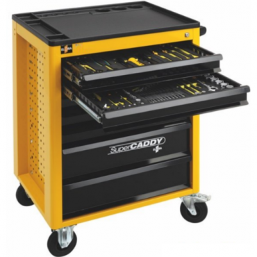 Tủ đồ nghề 184 chi tiết, 7 ngăn kéo ELORA Super Caddy 184