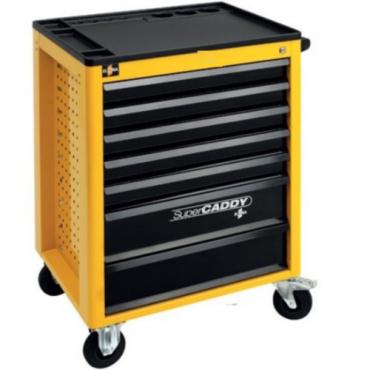 Tủ đồ nghề 7 ngăn Mercedes SUPER CADDY, bao gồm 237 tools ELORA 1220-LOT