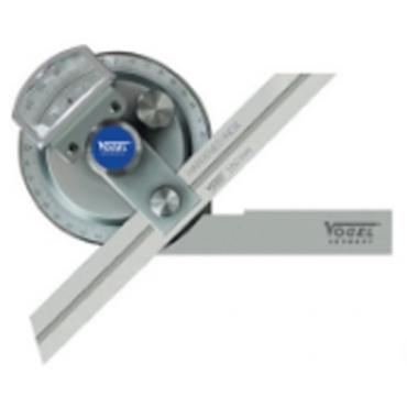 Thước đo góc cơ khí vạn năng 150/200/300mm Vogel 321220/K