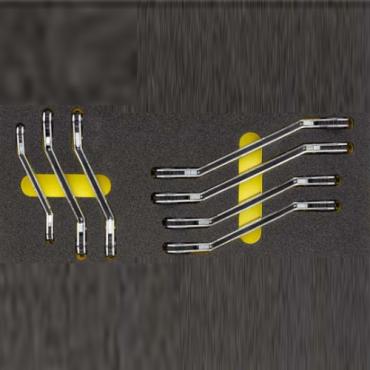 Bộ cờ lê tự động hai đầu vòng có khuỷu. Kích thước 8 đến 22mm ELORA OMS-29