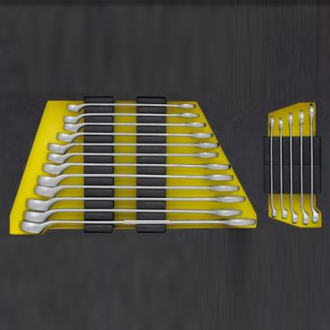 Bộ cờ lê vòng miệng 17 món, kích thước 6 đến 22mm ELORA OMS-1