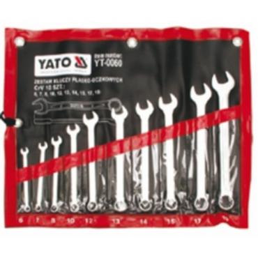 Bộ cờ lê vòng miệng cao cấp YATO 10 chi tiết 6-19mm YT-0060