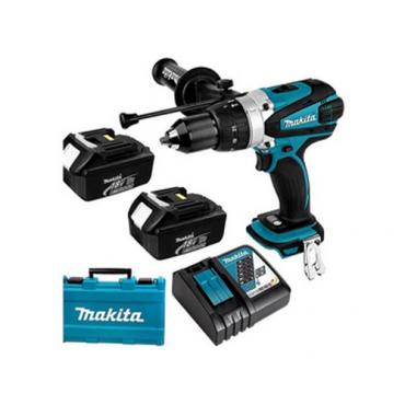 Bộ sản phẩm máy cưa đĩa máy vặn vít pin 18V Makita DLX2239M
