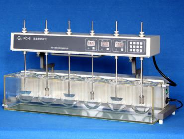 Máy đo độ hòa tan viên thuốc 6 vị trí Guoming  RC-6