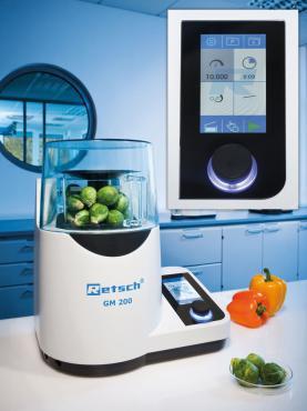 Máy nghiền mẫu thí nghiệm thức ăn chăn nuôi GM 200 Retsch