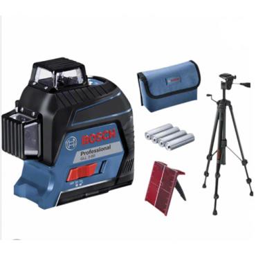 Máy cân mực laser tia Bosch GLL 3-80 + BT 150 (bộ khuyến mãi số lượng có hạn)
